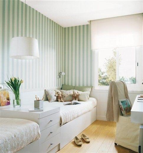 How to use stripes my 7 tips katherine spicer interior design - Habitaciones con papel pintado y pintura ...